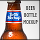 Beer Bottle Mockup V2.5 - GraphicRiver Item for Sale
