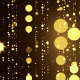 Golden Glowing Particle Rain Fly Through - VideoHive Item for Sale