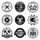 Motorcycle Racings Emblems - GraphicRiver Item for Sale