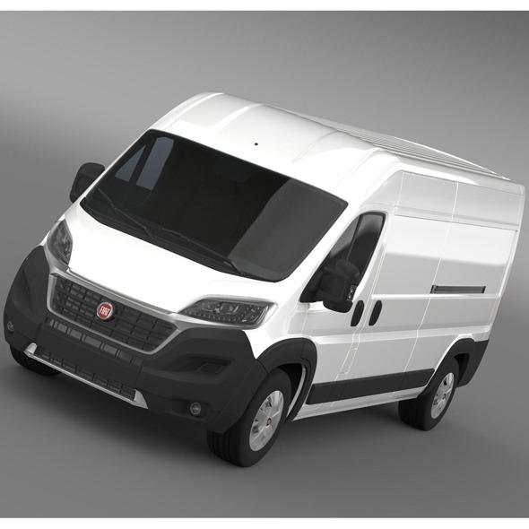 3DOcean Fiat Ducato Maxi Van L3H2 2014 9536074