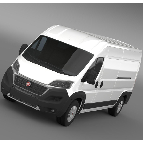 Fiat Ducato Maxi Van L3H2 2015 - 3DOcean Item for Sale