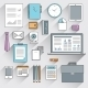 Business Items Set  - GraphicRiver Item for Sale