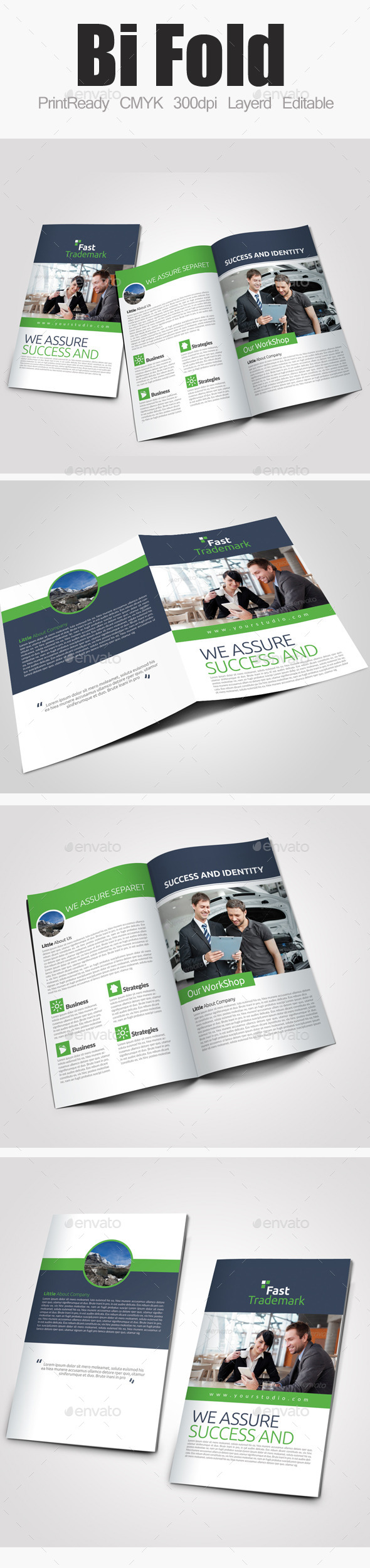 GraphicRiver Bi Fold Business Brochure 9536290