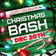Chrismas Bash Flyer Template - GraphicRiver Item for Sale