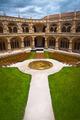Jeronimos Monastery Cloister center vertical - PhotoDune Item for Sale