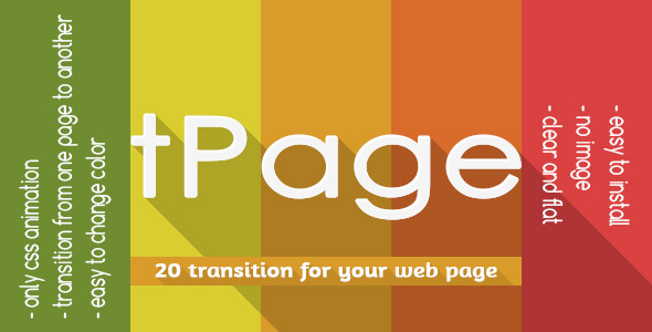 CodeCanyon tPage Transition from one page to another page 9537256