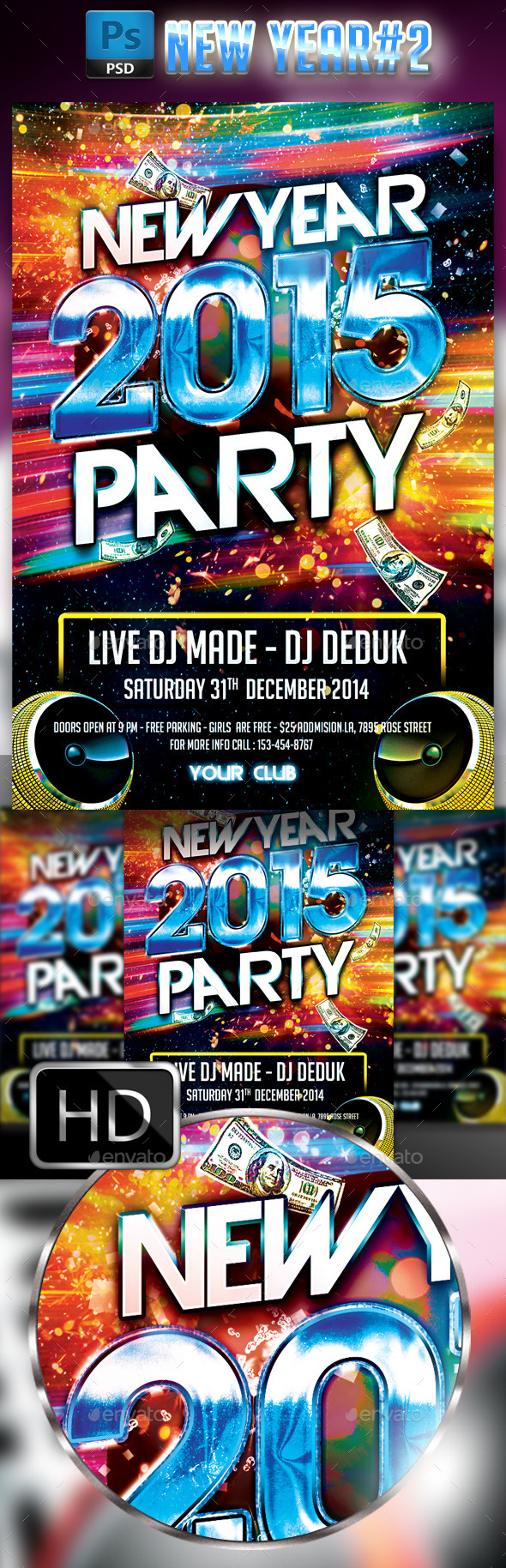 GraphicRiver New Year Party #2 9537509