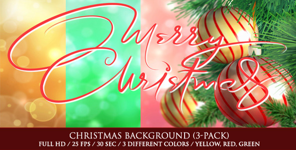 Christmas Background Pack