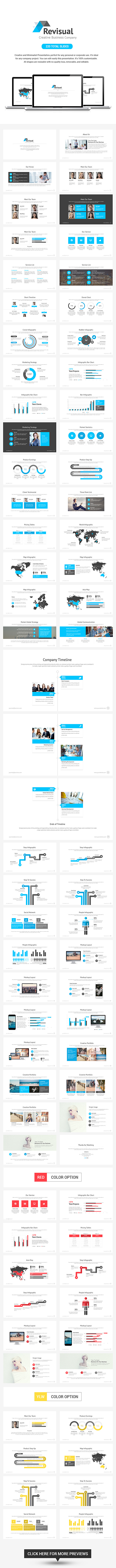 GraphicRiver Revisual Powerpoint Template 9537682