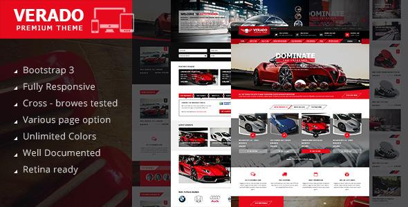 ThemeForest Verado profesional HTML5 Template 9537693