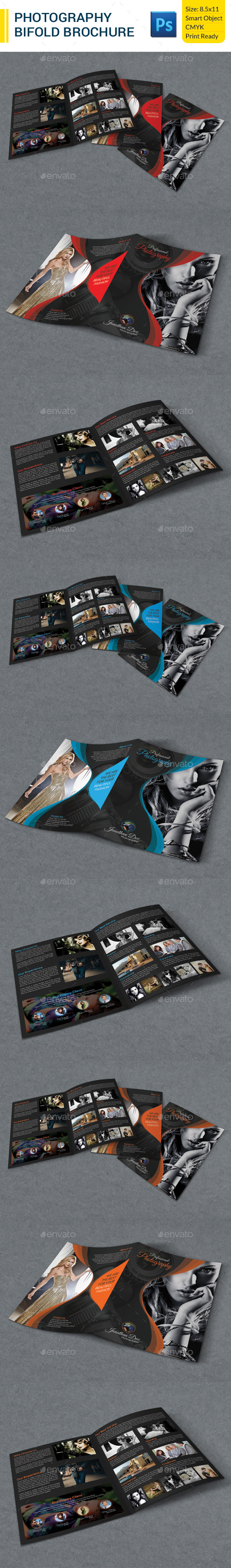 GraphicRiver Photography Bifold Brochure 9537700