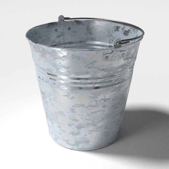 3DOcean Bucket 9538943