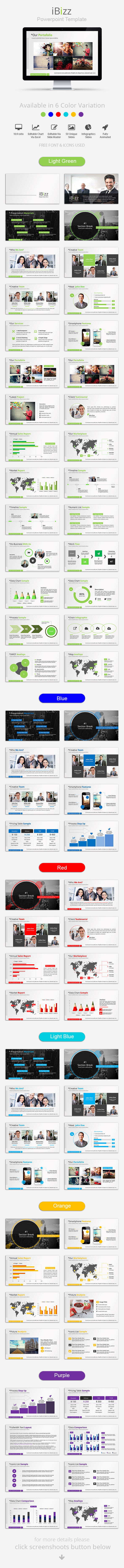 GraphicRiver iBizz Powerpoint Template 9538950