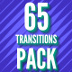 65 Transitions Pack - VideoHive Item for Sale