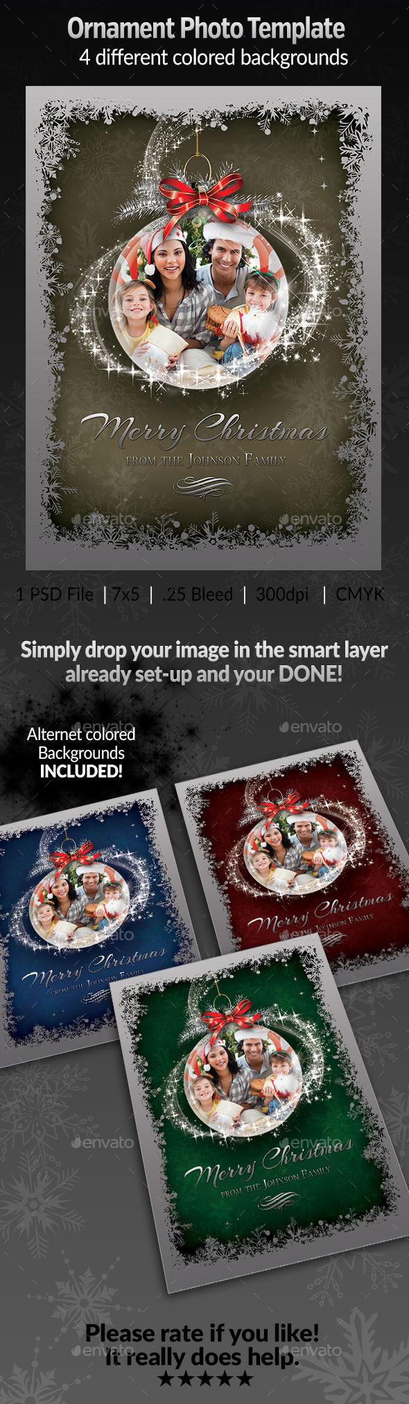 GraphicRiver Ornament Photo Template 9539211