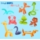 Balloon Animals Isolated  - GraphicRiver Item for Sale