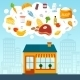 Grocery Store Concept  - GraphicRiver Item for Sale