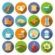 Breakfast Icon Flat - GraphicRiver Item for Sale