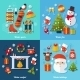 Winter Flat Set - GraphicRiver Item for Sale