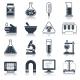 Laboratory Equipment Icons Black - GraphicRiver Item for Sale