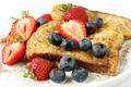 French Toast with Strawberries and Blueberries - PhotoDune Item for Sale