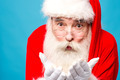 Santa claus with open palms - PhotoDune Item for Sale