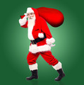 Santa claus with bag full of gifts - PhotoDune Item for Sale