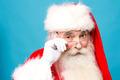Happy santa claus with eyeglasses - PhotoDune Item for Sale