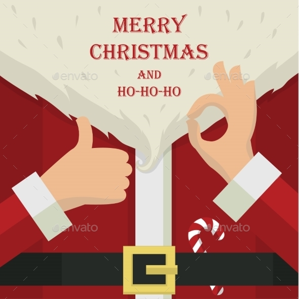 GraphicRiver Santa Claus 9540538