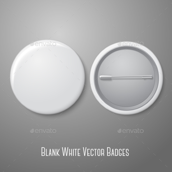 GraphicRiver Blank Pin Badge 9540715