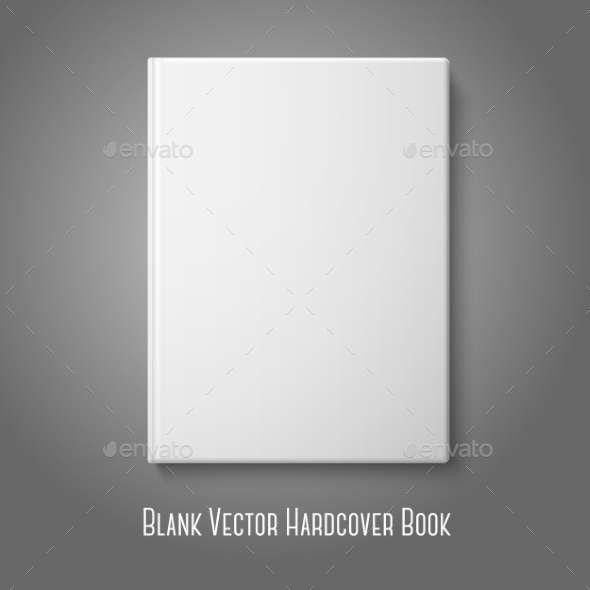 GraphicRiver Blank Hardcover Book 9540722
