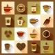 Coffee Cup Icons  - GraphicRiver Item for Sale