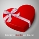 Heart Shaped Box with Bow - GraphicRiver Item for Sale