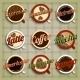 Coffee Menu Labels Set - GraphicRiver Item for Sale