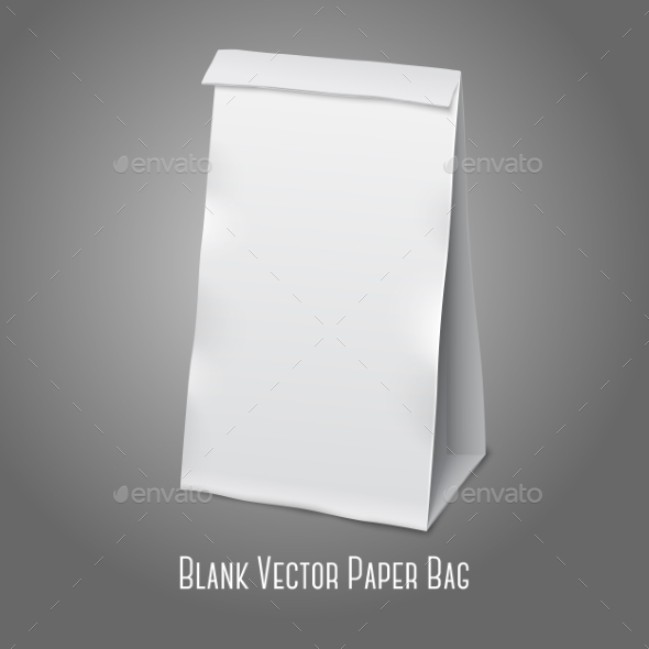 GraphicRiver Blank Packaging Bag 9540835