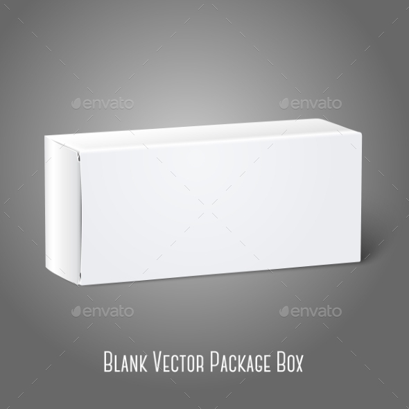GraphicRiver Blank Packaging Box 9540837