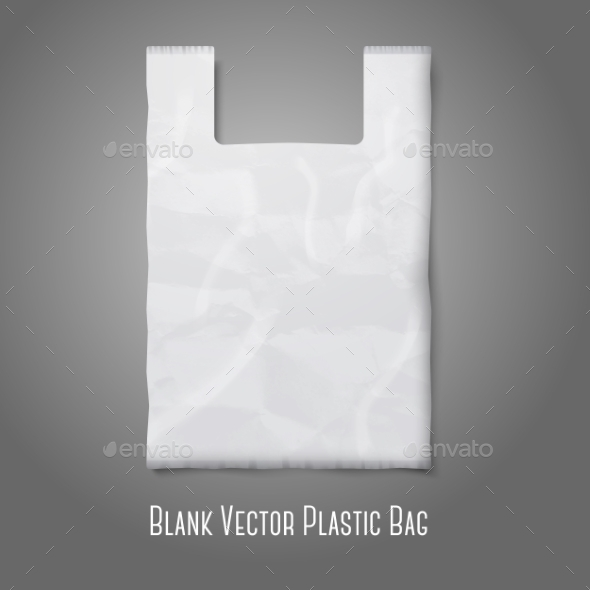 GraphicRiver Blank Plastic Bag 9540843