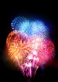 Large Professional Fireworks Display - PhotoDune Item for Sale
