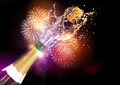 Champagne And Fireworks - PhotoDune Item for Sale