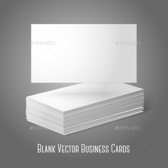 GraphicRiver Blank Business Cards 9540877