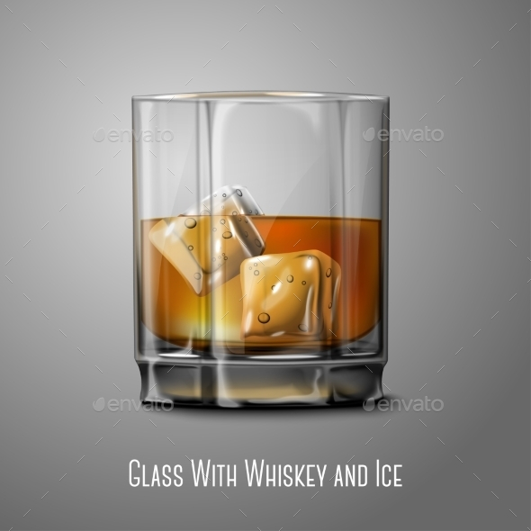 GraphicRiver Whiskey Glass 9540881