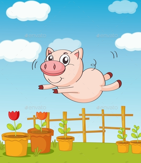 GraphicRiver A Pig 9540942