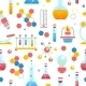 Chemistry Seamless Pattern - GraphicRiver Item for Sale