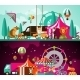 Circus Day and Night - GraphicRiver Item for Sale