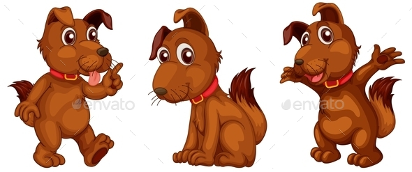GraphicRiver Dog Series 9541296
