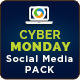 Cyber Monday Social Media Graphics - GraphicRiver Item for Sale