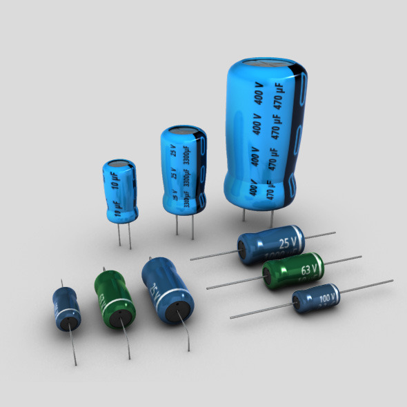 Electrolytic Capacitors Set