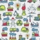 Industrial Sketch Seamless Pattern - GraphicRiver Item for Sale