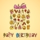 Birthday Card with Gift Box - GraphicRiver Item for Sale