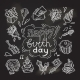 Birthday Sketch Chalkboard - GraphicRiver Item for Sale